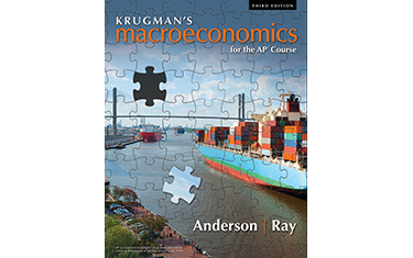 What are a few of the major financial signs that are analyzed in Krugmans Macroeconomics 5th Edition?